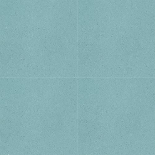 With its calming qualities, our FROSTED TEAL solid colour encaustic tile with blue-green hue lends itself wonderfully to so many spaces and architectural styles. Four tile view - Rever Tiles.