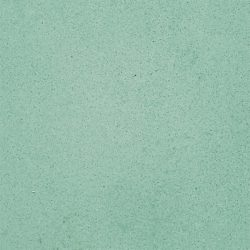Our TURQUOISE solid colour encaustic tile with sublime green hue lends itself wonderfully to so many spaces and architectural styles. Single tile view – Rever Tiles.